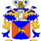 Young Coat of Arms in Cross Stitch