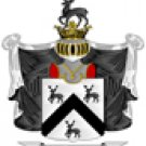 Rogers Coat of Arms in Cross Stitch