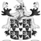 Peterson Coat of Arms in Cross Stitch