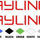 BAYLINER STICKERS BOAT DECALS