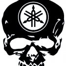 YAMAHA SKULL    VINYL DECALS STICKERS