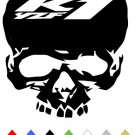 YAMAHA  YZF R1 SKULL  VINYL DECALS STICKERS