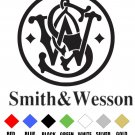 SMITH AND WESSON   VINYL DECALS STICKERS