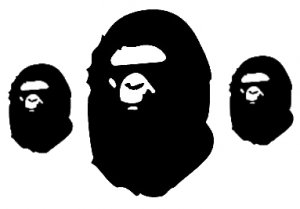 BAPE    VINYL DECALS STICKERS
