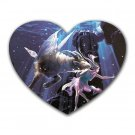 Capricorn Heart-shaped Mouse Pad