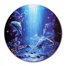 Pisces Round Mouse Pad