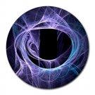 Nebula Swirl Round Mouse Pad