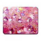 """Crystal Pink Love"" Small Mouse Pad"
