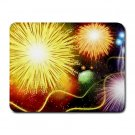 """""""Yellow Burst"""" Small Mouse Pad"""