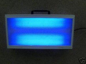 BLUE SAD Winter Blues Photo Therapy Light Box  NEW Lite