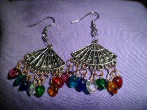 Fan of Hearts Earrings