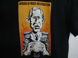 George W Bush Satire Tee Shirt T-Shirt