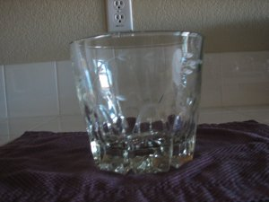 Vintage Princess House Crystal Ice Bucket