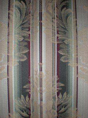 Drapes Curtains Tan Green Burgandy