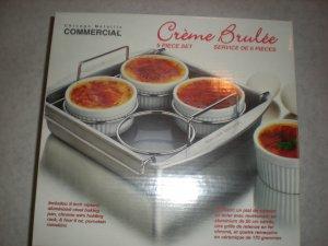 Creme Brulee Set Kitchen Cookware