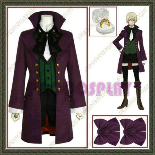 Black Butler Alois Trancy  Anime Cosplay Costume