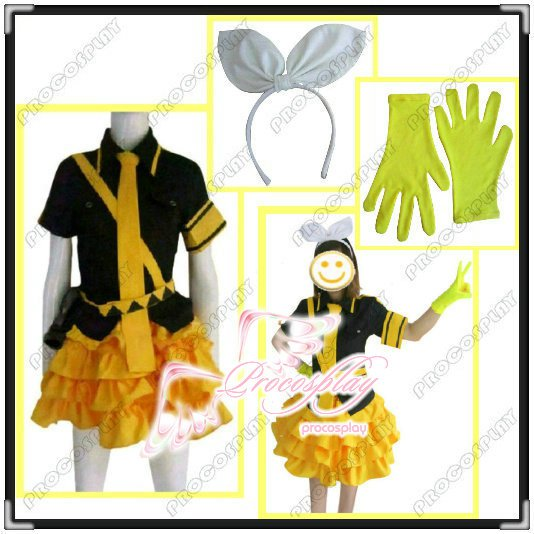 Love is war Vocaloid Rin Cosplay Costume Any Szie