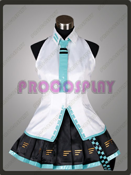 Vocaloid Project Diva Miku Cosplay Costume