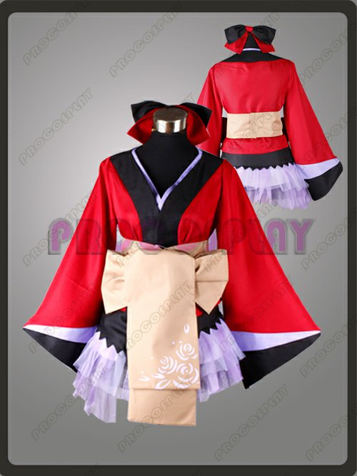 Vocaloid Project Diva Luka Cosplay Costume