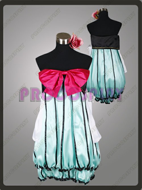 Japan Anime Vocaloid Project Diva Miku Cosplay Costume