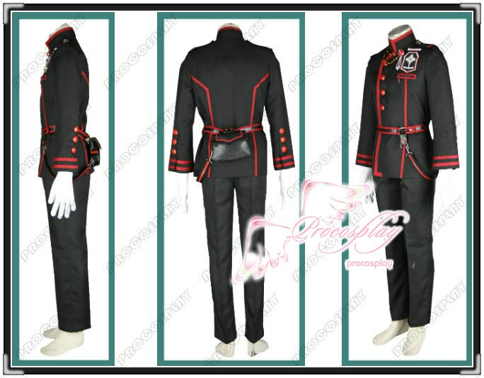 New D.Gray-man Allen·Walker Cosplay Costume Any Size