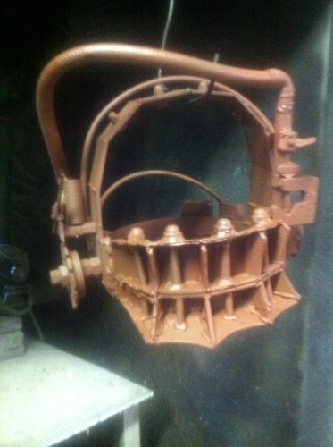 Amanda Reverse Beartrap SAW Movie Prop Replica Life Size