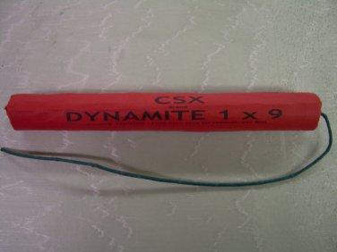Red Lifesize Stick Fake Dynamite Stage Prop Replica Real Fuse Joke Gag C4 Bomb