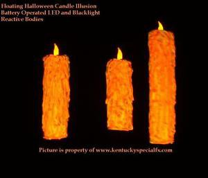 ORANGE Halloween Floating Candle Illusion Great Hall Harry Potter Movie Prop