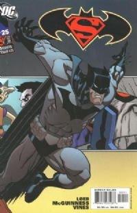 Superman/Batman  #25 Batman cover NM