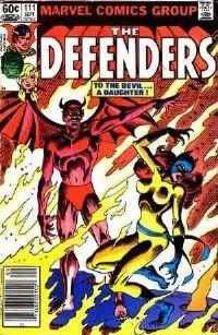 the Defenders #111 1982