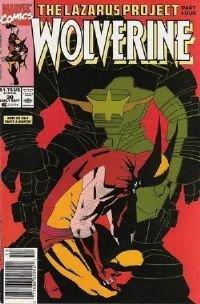 Wolverine # 30 (lazarus project part4) NM