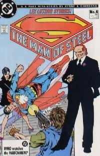 The Man of Steel (mini-series) #4 1986 NM