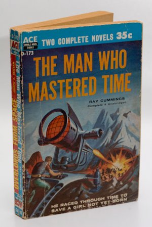 Ace Double #D-173 (1956) Overlords From Space / The Man Who Mastered Time