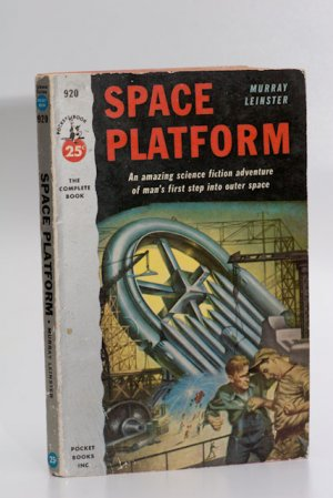 Pocket Sci Fi Novel #920 (1953): 'Space Platform' by Murray Leinster