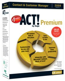 (15) User Act! Premium (EX) 2008 Upgrade Early Bird Promo - Save $989