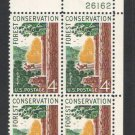USA Scott #1122 Forest Conservation 4-c Plate Block MNH F-VF