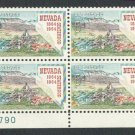 USA Scott #1248 Nevada Statehood 5-c Plate Block MNH VF