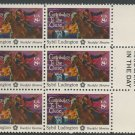 "United States Scott #1559 8-c Sybil Ludington Block of Six with ""Mail Early"" Inscription 1975"