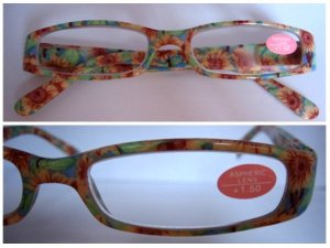 High Quality Reading Glasses 8501-1012 Floral +1.50