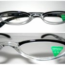High Quality Reading Glasses 8150-DT12 upper black +2.25