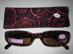 High Quality Sun Reader 8301-6048 Rose +2.75 UV400
