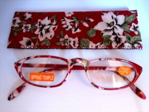 High Quality Reading Glasses 8205-1023 Floral +1.75
