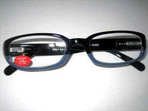 High Quality Reading Glasses 8301-KA10 Black+Grey +2.50