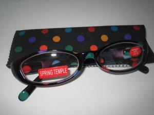 High Quality Reading Glasses 8308-5014 Polka Dot +3.00