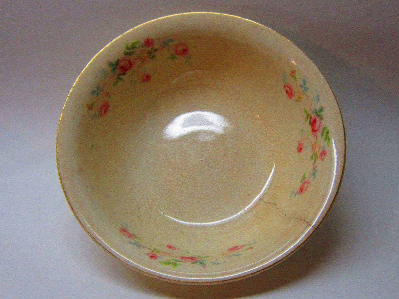 Wellsville Ohio China Company Serving Bowl