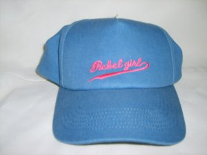 Rebel Girl blue baseball hat
