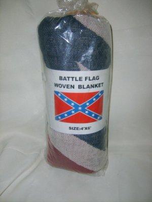 Woven Battleflag Blanket