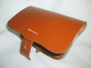 Leather Pistol Box - Brown