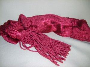 Silk Sash - Crimson
