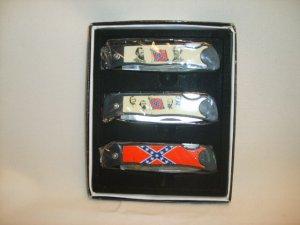 3 Piece Rebel Knife Set